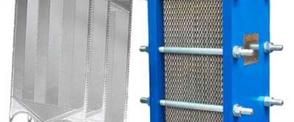Estrutura para trocadores de calor a placa